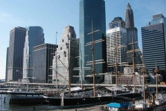 Financial District, pohled od East river