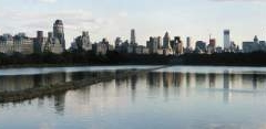 Druhé panorama - tentokrát od vodní nádrže v Central Parku