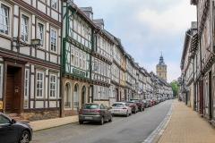Staré hornické městečko Goslar