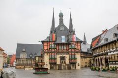 Radnice v městečku Wernigerode