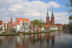 Město Lübeck je součástí v UNESCO