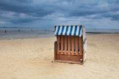 Na pláži u Cuxhaven