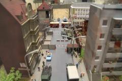Další fotky jsou z největší miniaturní expozice světa. Zde hranice mezi východním a západním Berlínem