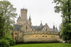 Marienburg - královský hrad Jiřího V. Hannoverského