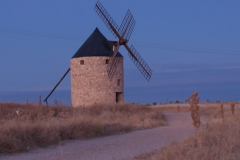 Větrný mlýn v Belmonte