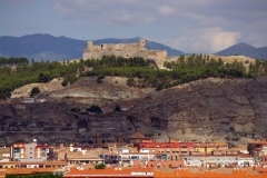 16.den- Zřícenina hradu nad městem Calatayud