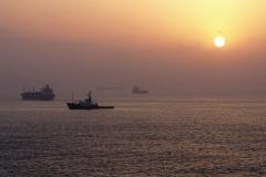 18.den- Gibraltar- Úsvit