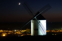 Větrné mlýny v Mota del Cuervo