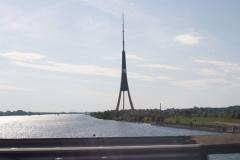 Lotyšsko- Věž v Rize