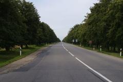 3.den- Litva- 25km rovná silnice