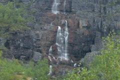 Vodopád v kaňonu Alta