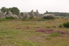 Zvláštní kameny u Carnacu.