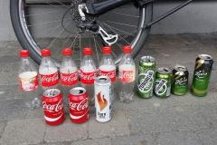 Moje kolekce Coca coly a Tuborgů