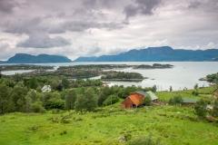 U největšího fjordu Sognefjord