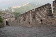 Čínská zeď u města Mutianyu