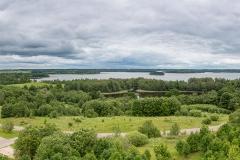 Panorama regionálního parku Anykščių