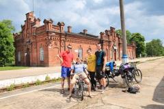 Suwalki - seznámení s polskými cyklisty