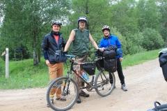 Cykloturista z Lotyšska