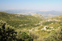 Pohled z pohoří Baume na Marseilles