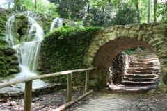 Romantické vodopády