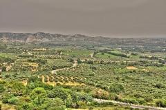 Pohled z vesničky