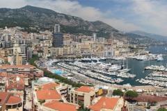 Panoramatický pohled na čtvrť Monte Carlo