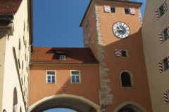 Brückturm - Věž u mostu Steinerne Brücke