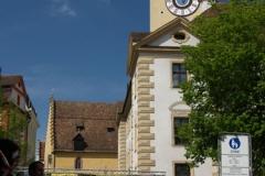 Stará radnice s běžci