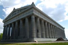 Walhalla - neoantická stavba postavená za vlády Ludvíka I.