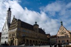 Náměstí v Rothenburgu