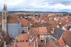 Panorama z radniční věže.