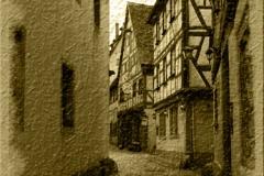 Středověká ulička