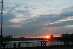 Západ slunce (23.30 místního času)