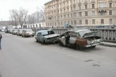 Vedlejší ulice Petrohradu