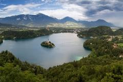 Bledské jezero a okolí