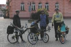 1.den- Pří cestě do Opavy jsme se stavili v Krnově.