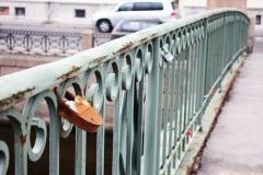 Sem tam najdete na mostech zámky zamilovaných.