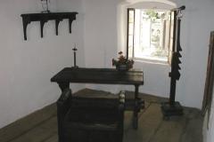 Místnost, kde žil a psal svá díla
