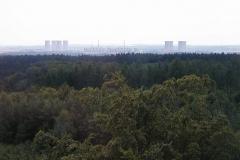 Výhled na jadernou elektrárnu Dukovany