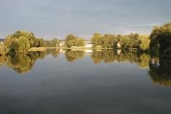 Telč - zde se u rybníka krásně usínalo