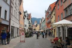 Füssen na jihu Bavorska