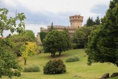 Hrad ve městečku Volterra