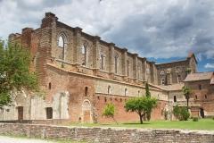 Bývalý klášter Abbazia di San Galgano