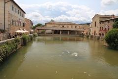 Městečko Bagno Vignoni