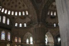 Uvnitř modré mešity