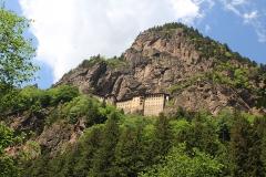 Sumela monastery - na ten se muselo šlapat taky hodně vysoko, ale za návštěvu to stálo.