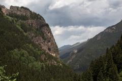 Klášter Sumela je 1600 let starý a tyčí se na skále ve výšce 1350 m.n.m.