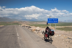 Na dalším sedle už vidím horu Ararat.