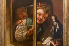 Obraz děvčátka s panenkou