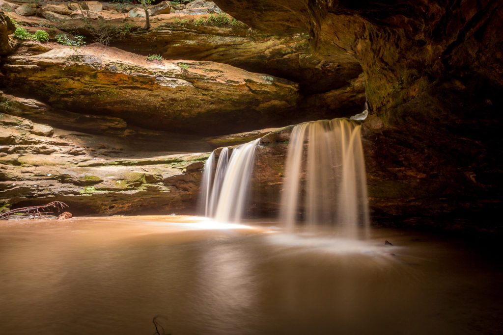 Hocking Hills - Vodopády